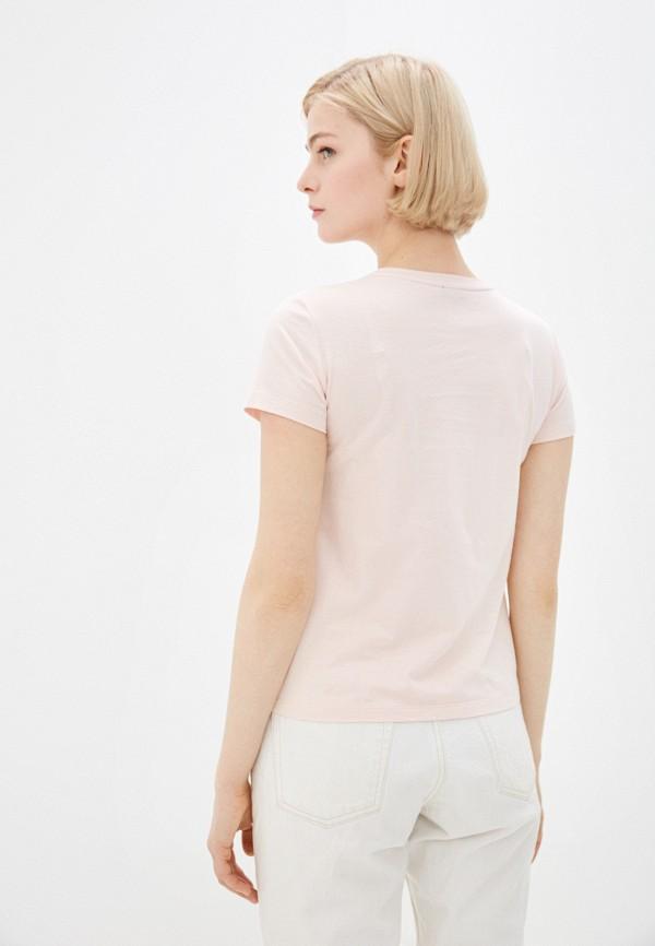 Фото 3 - Женскую футболку Baon розового цвета