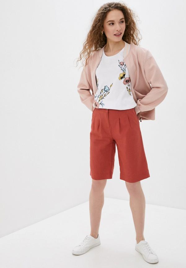Фото 2 - Женскую футболку Baon белого цвета