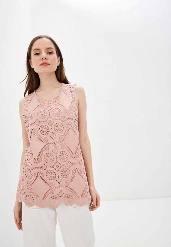 женский топ baon, розовый