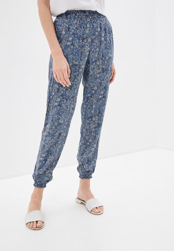женские повседневные брюки baon, голубые