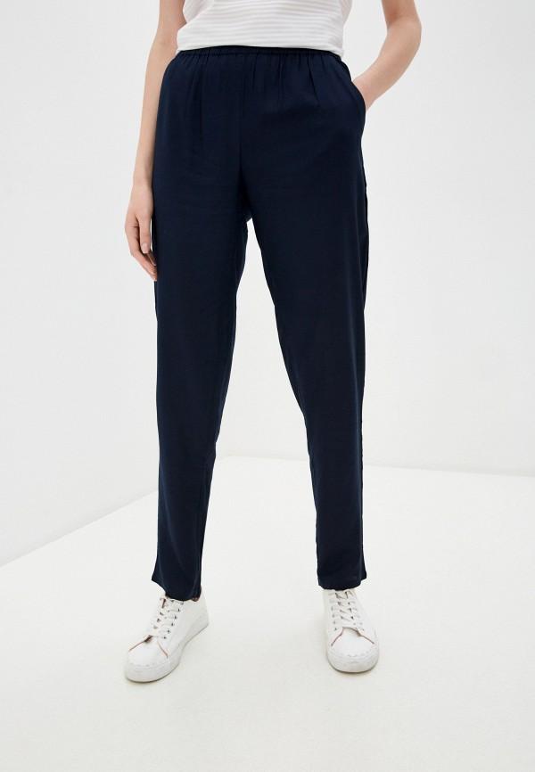 женские зауженные брюки baon, синие
