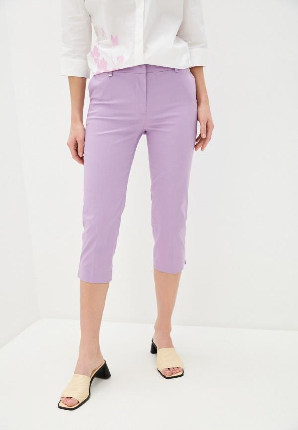 женские капри baon, фиолетовые