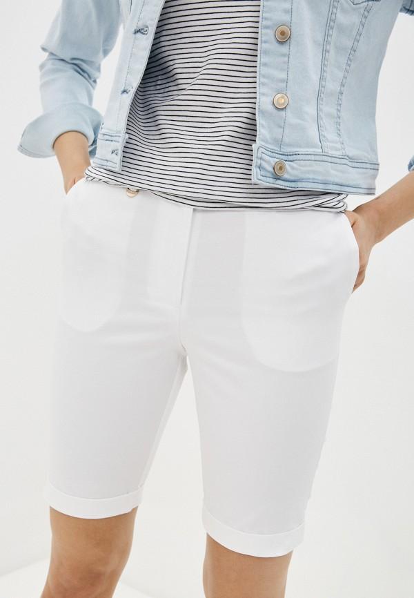 женские повседневные шорты baon, белые