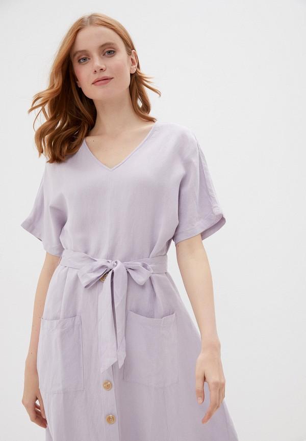 Фото 2 - Женское платье Baon фиолетового цвета
