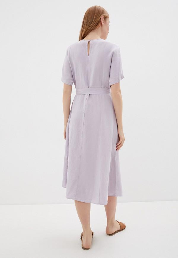 Фото 3 - Женское платье Baon фиолетового цвета