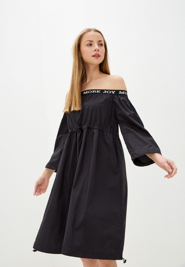 женское платье baon, черное