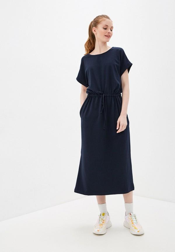 Фото 2 - Женское платье Baon синего цвета