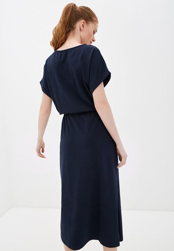 Фото 3 - Женское платье Baon синего цвета