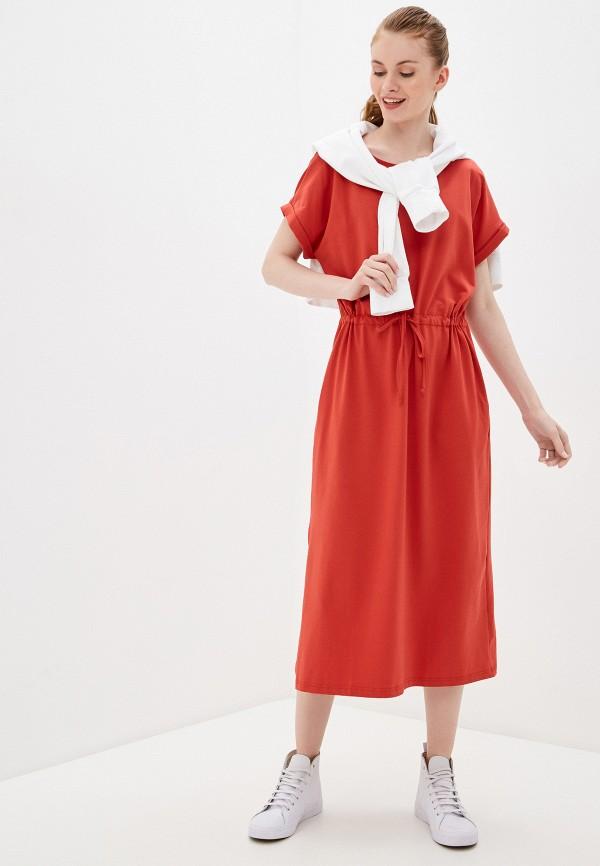 Фото 2 - Женское платье Baon красного цвета