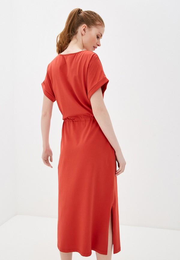 Фото 3 - Женское платье Baon красного цвета