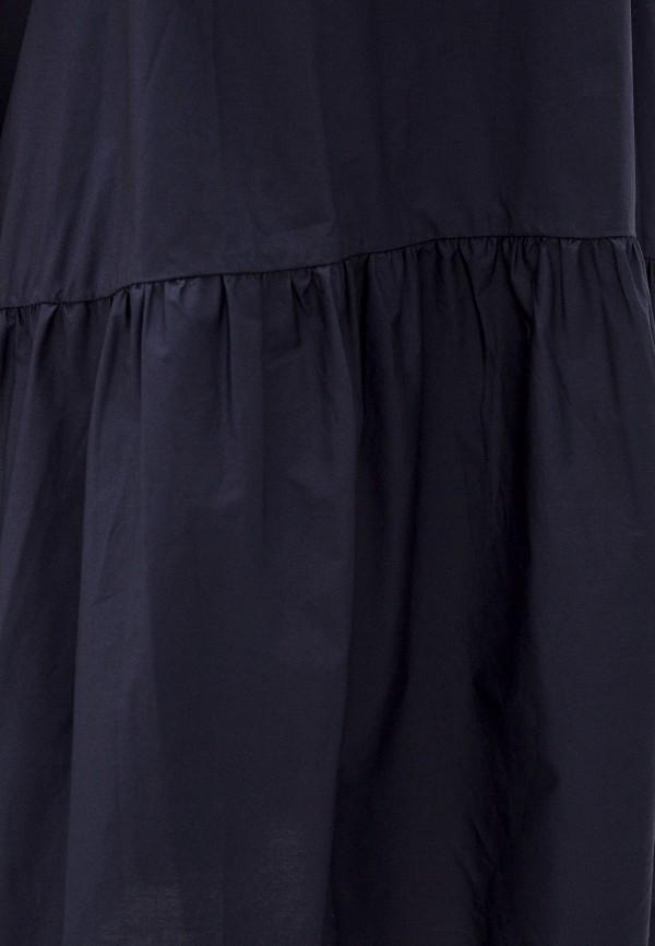 Фото 4 - Женское платье Baon синего цвета
