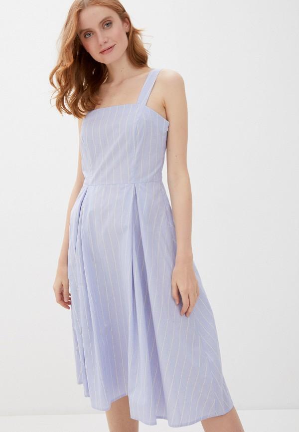 женский сарафан baon, голубой