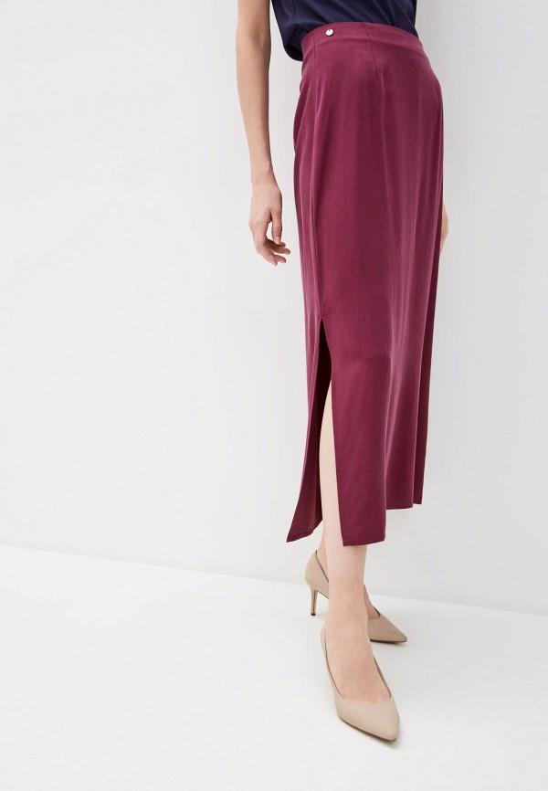 Фото - Женскую юбку Baon фиолетового цвета