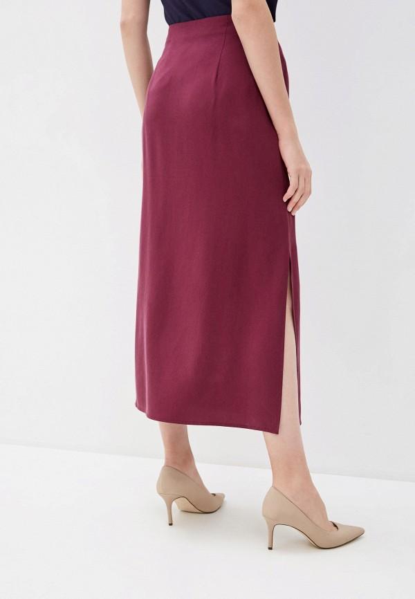 Фото 3 - Женскую юбку Baon фиолетового цвета