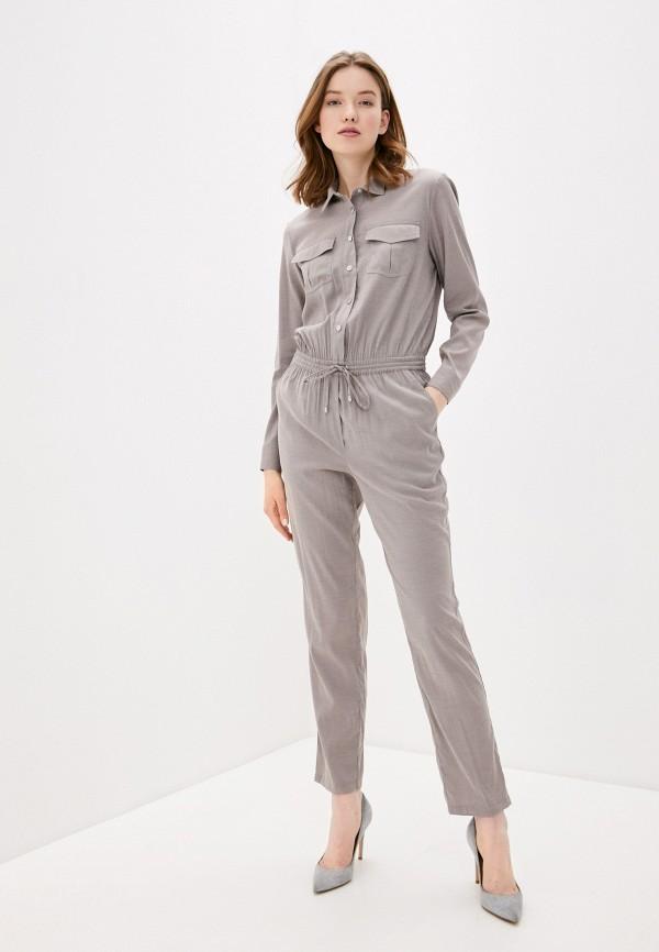 женский комбинезон с брюками baon, серый
