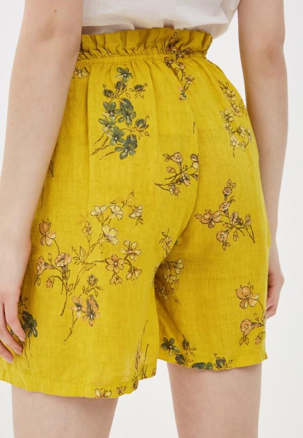 Фото 3 - Женские шорты Baon желтого цвета