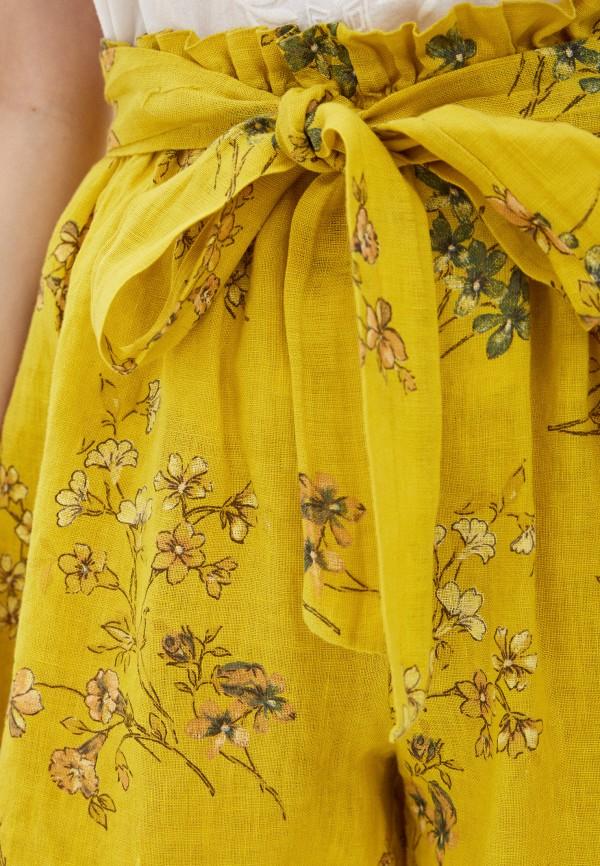 Фото 4 - Женские шорты Baon желтого цвета
