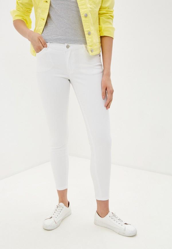 женские повседневные брюки baon, белые