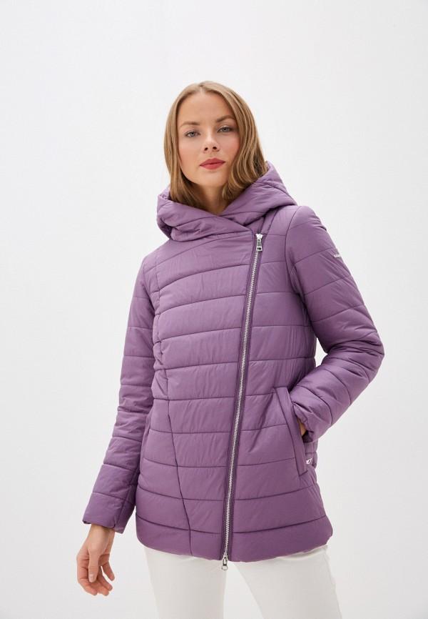 женская куртка baon, фиолетовая