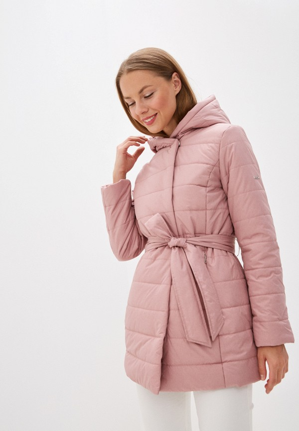 женская куртка baon, розовая