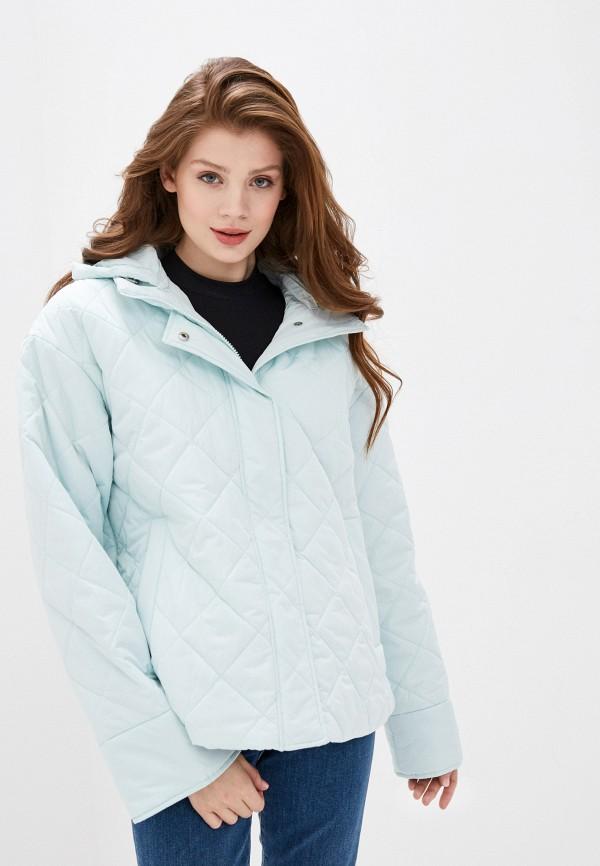 женская куртка baon, бирюзовая