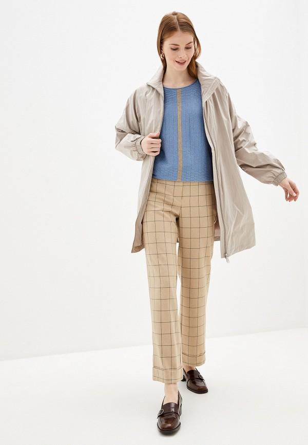 Фото 2 - Женское пальто или плащ Baon бежевого цвета
