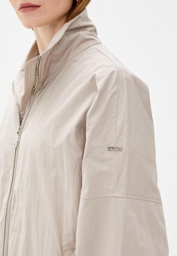 Фото 5 - Женское пальто или плащ Baon бежевого цвета