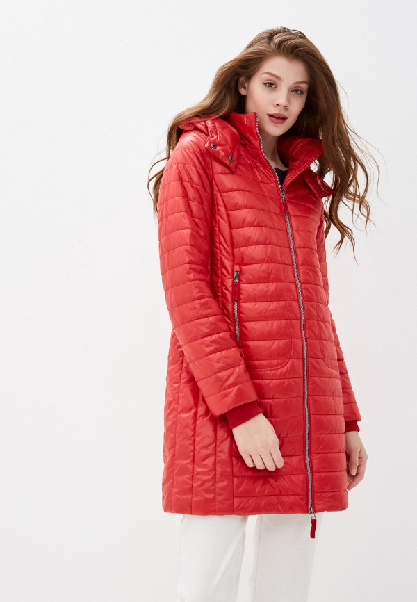 женская куртка baon, красная