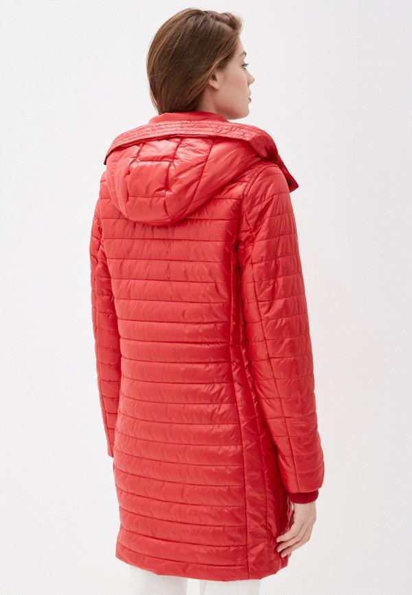 Фото 3 - Куртку утепленная Baon красного цвета