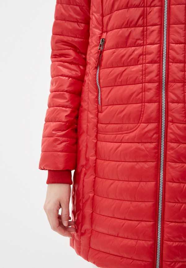 Фото 5 - Куртку утепленная Baon красного цвета