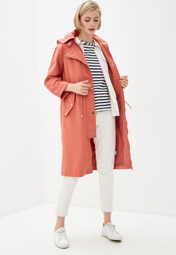 Фото 2 - Женское пальто или плащ Baon розового цвета