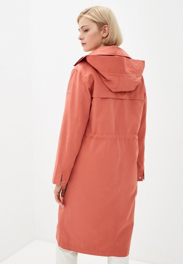 Фото 3 - Женское пальто или плащ Baon розового цвета