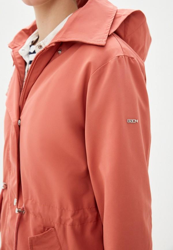 Фото 5 - Женское пальто или плащ Baon розового цвета