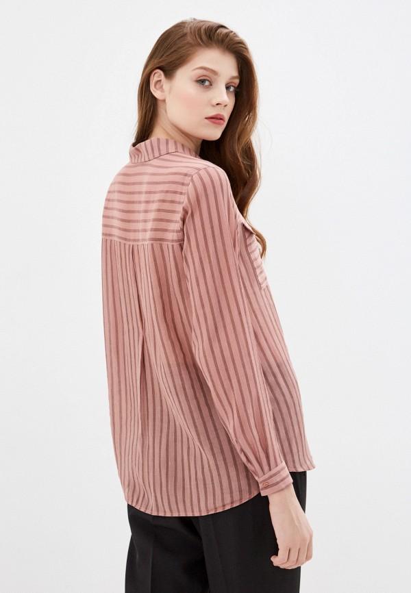 Фото 3 - Женскую блузку Baon розового цвета