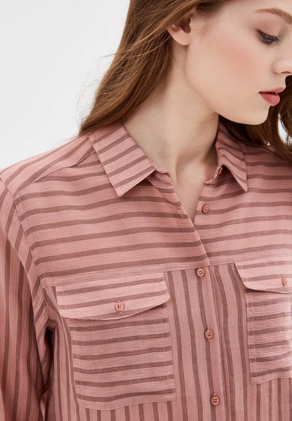 Фото 5 - Женскую блузку Baon розового цвета