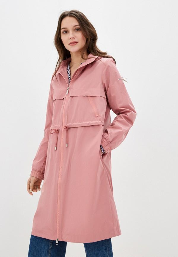 женская парка baon, розовая