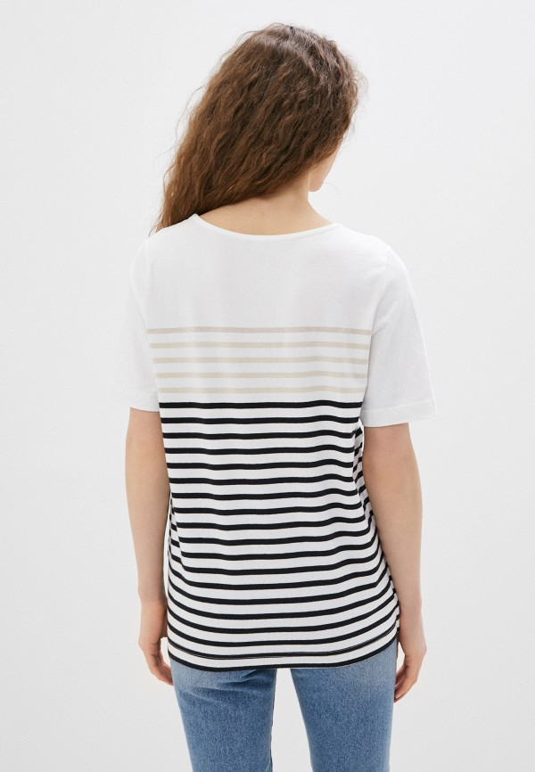 Фото 3 - Женскую футболку Baon белого цвета