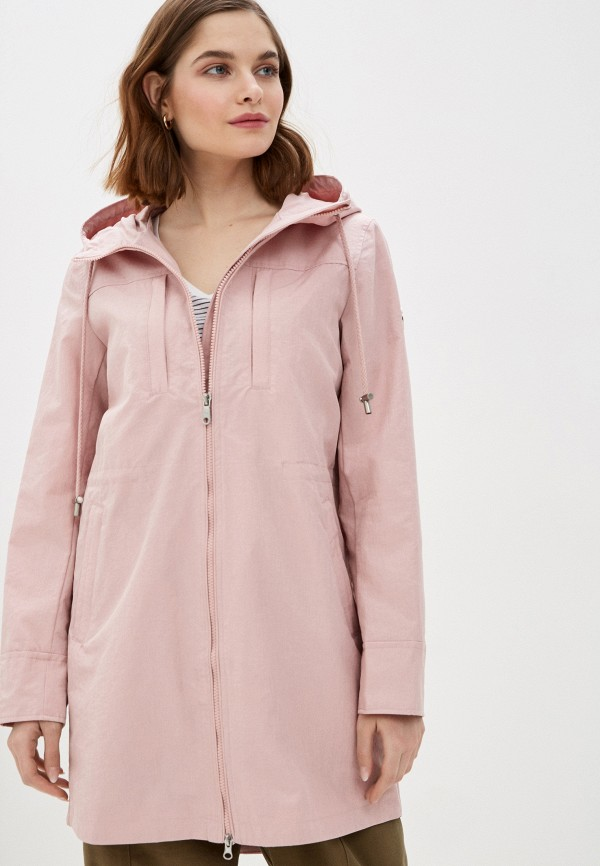 женский плащ baon, розовый
