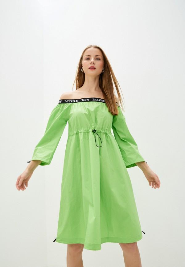 женское платье baon, зеленое