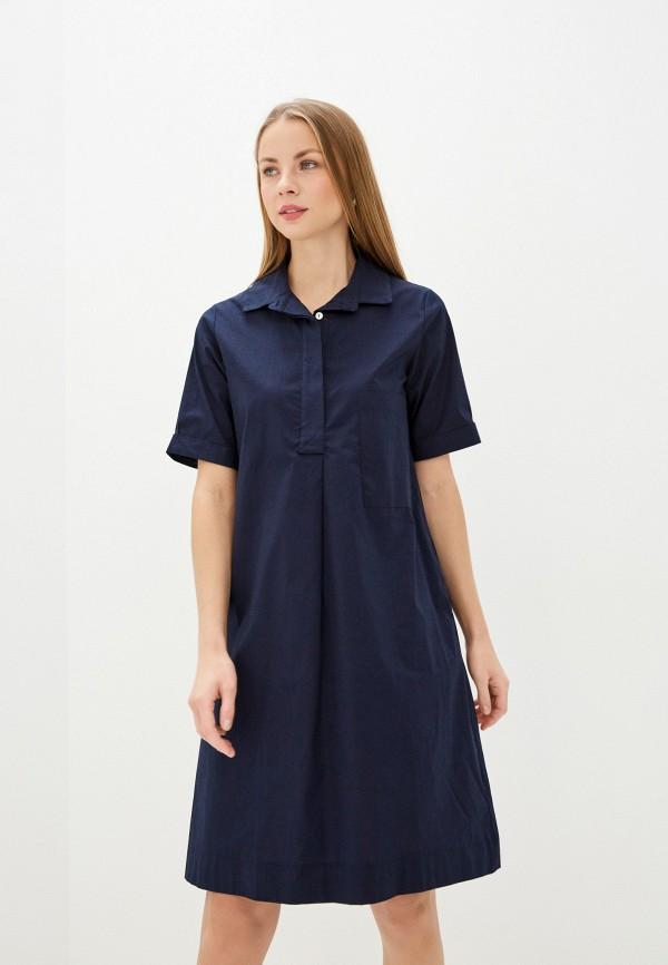 женское платье baon, синее
