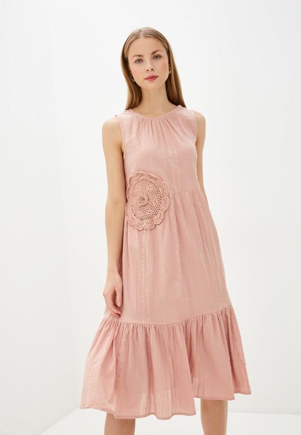 Фото - Женское платье Baon розового цвета