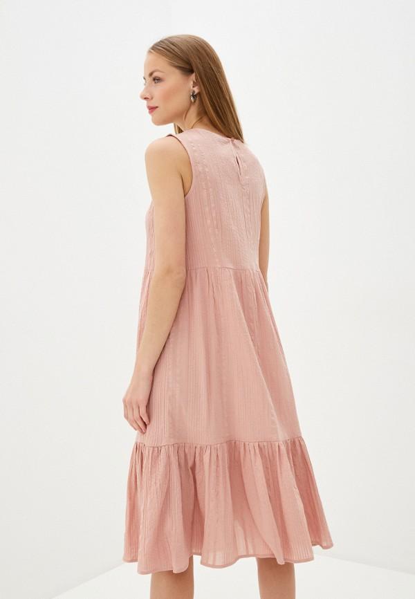 Фото 3 - Женское платье Baon розового цвета