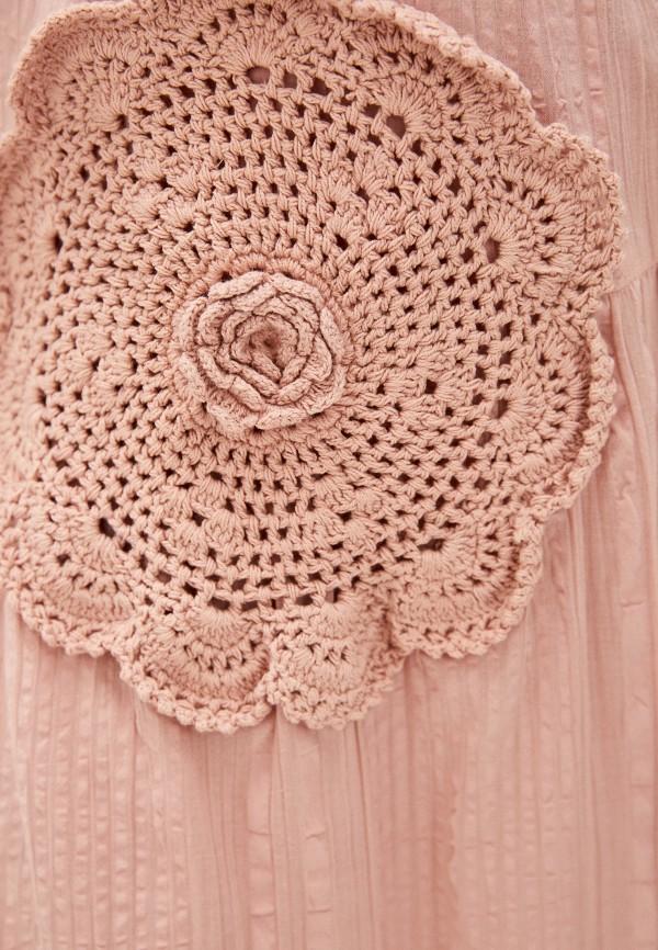 Фото 4 - Женское платье Baon розового цвета