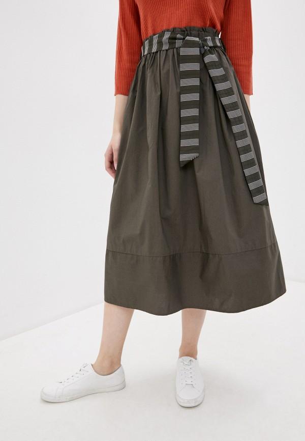 женская юбка baon, серая