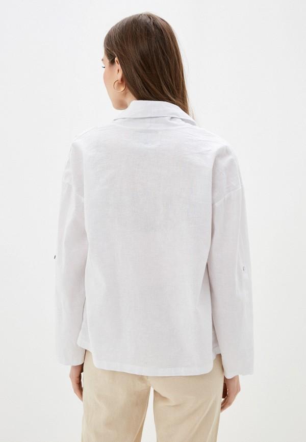 Фото 3 - Женский жакет Baon белого цвета
