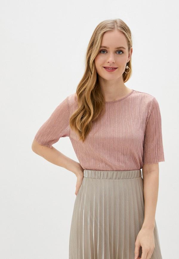 женская футболка baon, фиолетовая