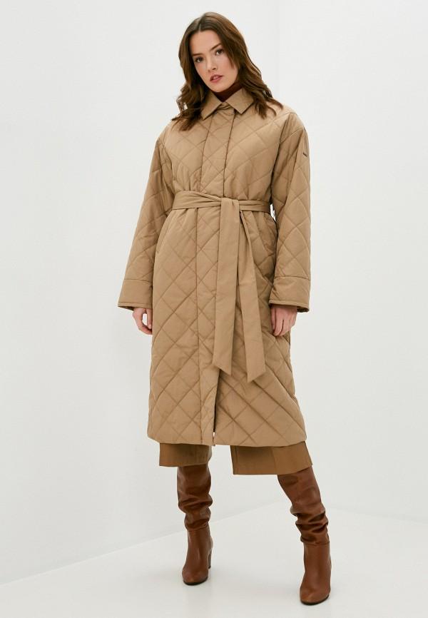 женская куртка baon, бежевая