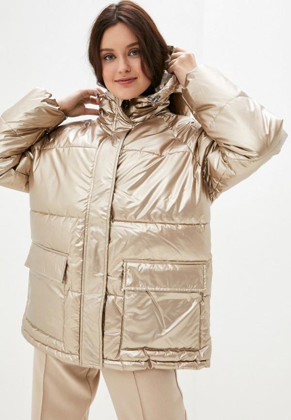 женская куртка baon, золотая