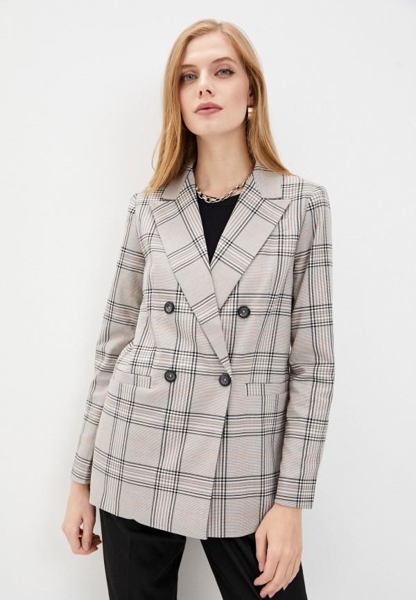 женский пиджак baon, бежевый