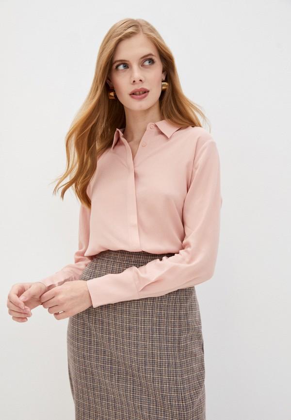 женская блузка baon, розовая